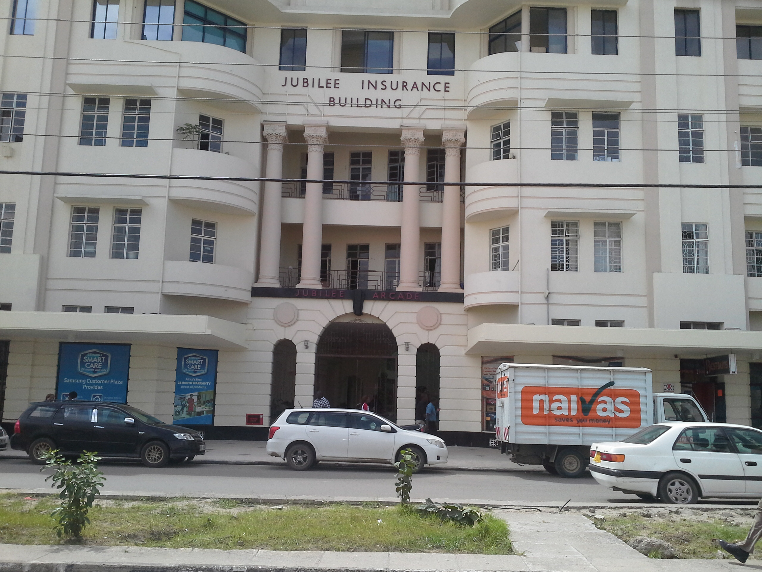 JUBILEE INSURANCE BUILDING - MOI AVENUE, MOMBASA